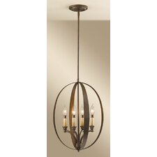 Kinsey 4 Light Foyer Pendant