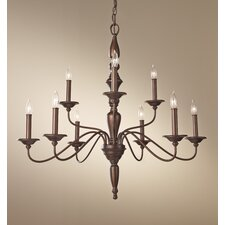Yorktown Heights 9 Light Chandelier