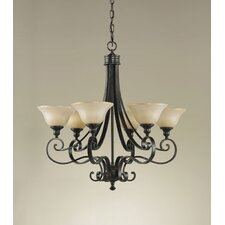 Cervantes 6 Light Chandelier