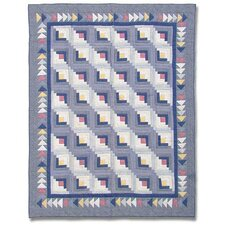 Sail Log Cabin Quilt