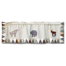 Mountain Whispers Cotton Curtain Valance