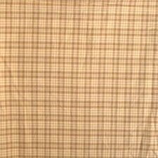 Brown Plaid Pillow Sham