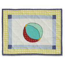 Summer Fun Cotton Crib Toss Pillow