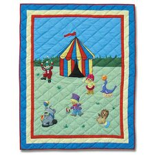 Circus Cotton Crib Quilt