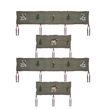 Call of The Wild 4 Piece Bumper Pad Set