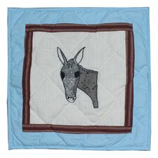 Mule Trail Cotton Pillow