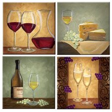 Tuftop The Wine Cellar Coasters (Set of 4)