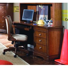 "Elite Classics 54"" W Computer Desk with Keyboard Shelf"