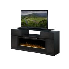 "Concord 73"" TV Stand with Electric Fireplace"