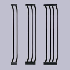Black Extra-Tall Gate Extensions