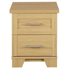 Melody 2 Drawer Bedside Table