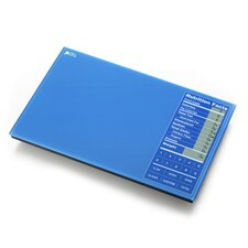Perfect Portions Digital Scale with Nutrition Facts Display in Blue