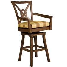 Vienna Swivel Bar Stool with Cushion