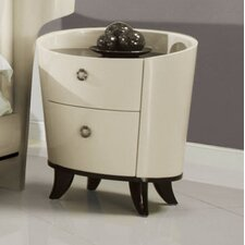 Angelica 2 Drawer Nightstand