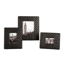 Maulana Red Picture Frame (Set of 3)