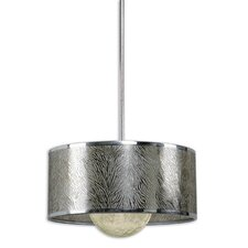 FW Generic Kenza 1 Light Drum Foyer Pendant