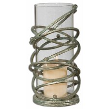 2 Piece Zirah Metal Votive Set
