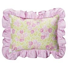 Flower Basket Decorative Pillow