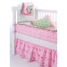 Summer Garden Crib Bedding Collection