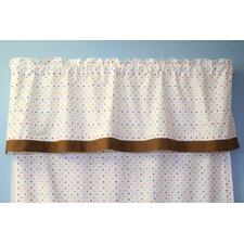 Baby and Me Rod Pocket Tailored Curtain Valance