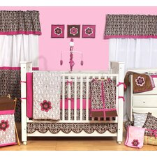 Damask Crib Bedding Collection