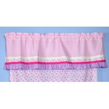 Fairyland Rod Pocket Tailored Curtain Valance