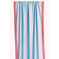 Boys Stripes Cotton Rod Pocket Curtain Single Panel