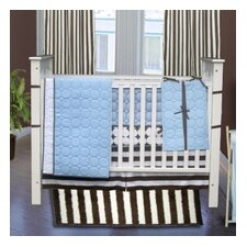 Quilted Circles 4 Piece Crib Bedding Collection