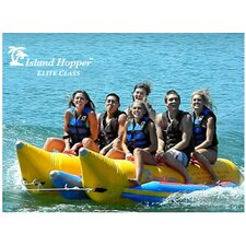 6 - Passenger Elite Class Side By Side Heavy Commercial Banana Boat