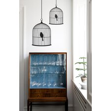 Small Birdcage Wall Sticker