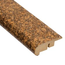"0.63"" x 2.19"" Madeira Stair Nose Molding in Cork Natural"
