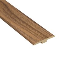 "0.25"" x 1.44"" Laminate T-Molding in Harmony Walnut"