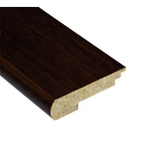 "Renew and Restore 0.38"" x 3.5"" Bamboo Stair Nose Molding in Walnut"