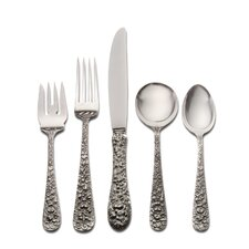 Stieff Rose 46 Piece Flatware Set