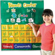 Blends Center Pocket Chart