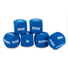 Sight Word Cubes