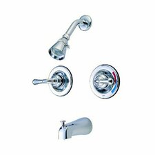 St. Charles Pressure Balanced Volume Control Tub and Shower Faucet