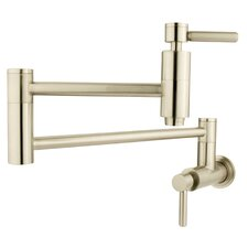 Nuvo Double Handle Wall Mount Pot Filler with Concord Lever Handles