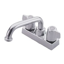 Centerset Laundry Faucet with Double Lever Handles
