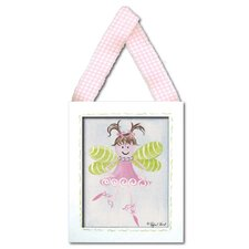 Fairy Framed Giclee - Light Brown