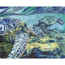 "12"" x 15"" Turtles Design Cutting Board"