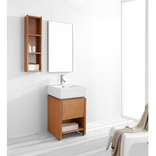 "Curtice 19.7"" Single Bathroom Vanity Set"