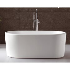 "Serenity 67"" x 28"" Bathtub"