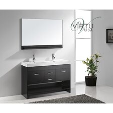 "Gloria 48"" Double Sink Bathroom Vanity Set"