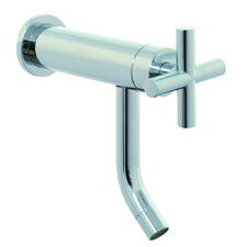 Maxima Wall Mounted Bathroom Sink Faucet with Single Cross Handle