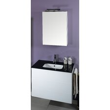 "Time 31.5"" Wall Mounted Bathroom Vanity Set"