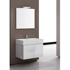 "Smile 31.1"" Wall Mount Bathroom Vanity Set"