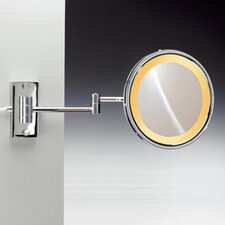 Incandescent Light 5X Magnifying Mirror with Two Arm