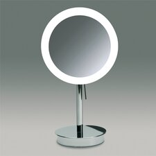 "14.2"" Free Standing 3x Magnifying LED Mirror with Switch"