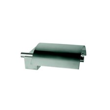 Nexx Wall Mounted Toilet Paper Holder with Cover in Inox